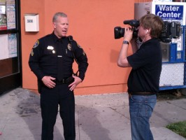 Heroes Behind The Badge wraps production in California